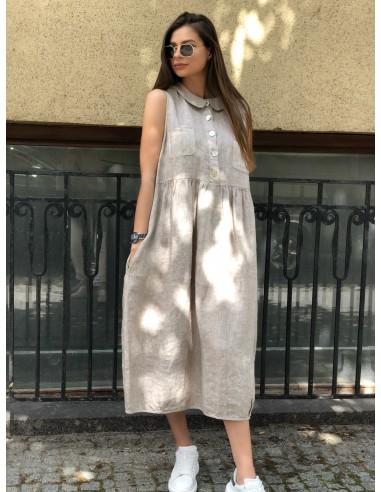 Linininė suknelė