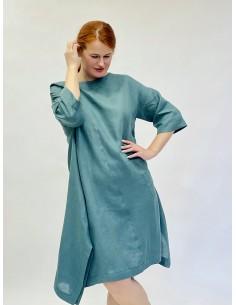Lininė suknelė Verde