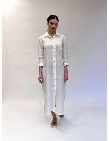 Marškinių tipo suknelė White