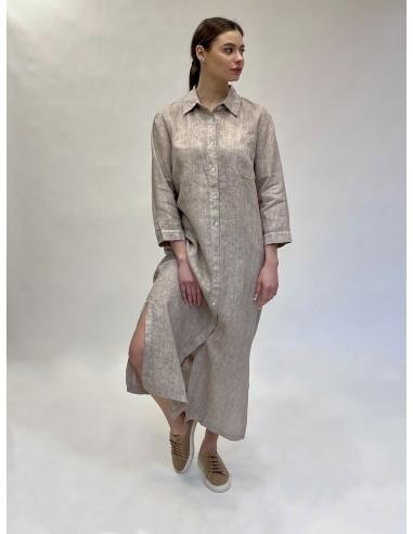 Marškinių tipo suknelė Taupe