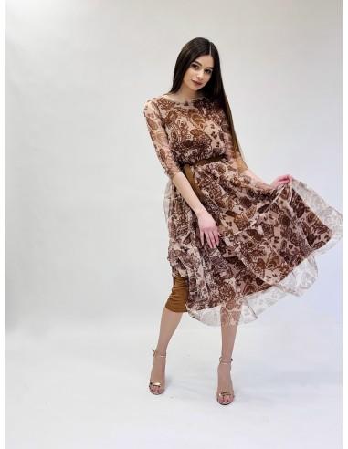 Suknelė Brown