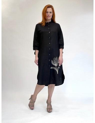 Marškinių tipo suknelė 01 Nero