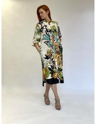 Marškinių tipo suknelė 04 Bianco